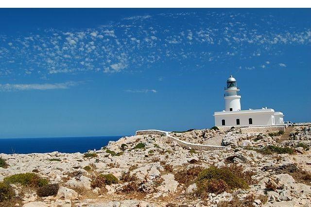 Faro de Cabo de Caballería de Menorca