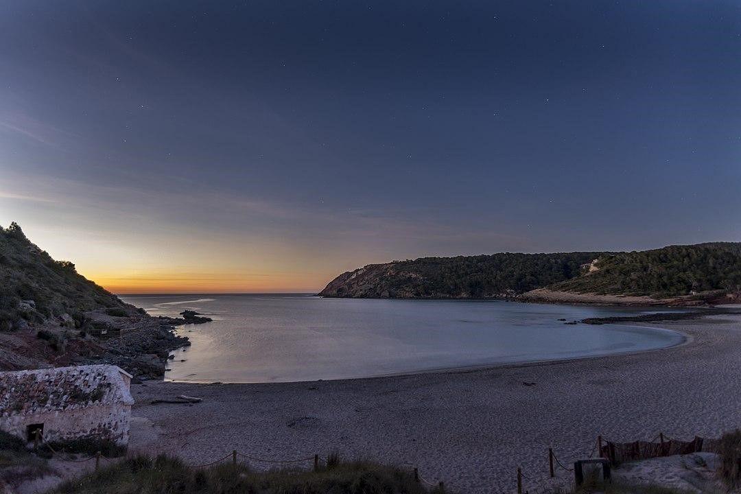 Playa Algaiarens de Menorca