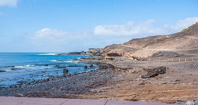 Playa el confital de Las Palmas de Gran Canaria