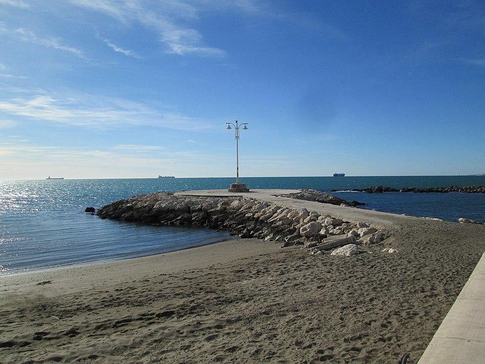 Playa del Pedregalejo de Málaga