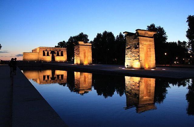 Templo de Debod de Madrid