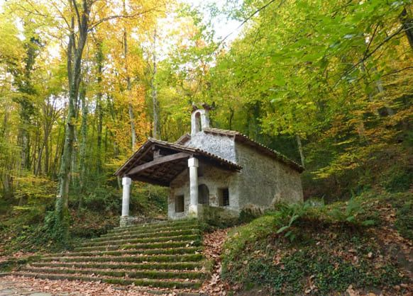 ermita de sant marti del corb garrotxa Girona