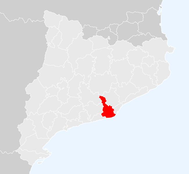 mapa de rutas del baix llobregat