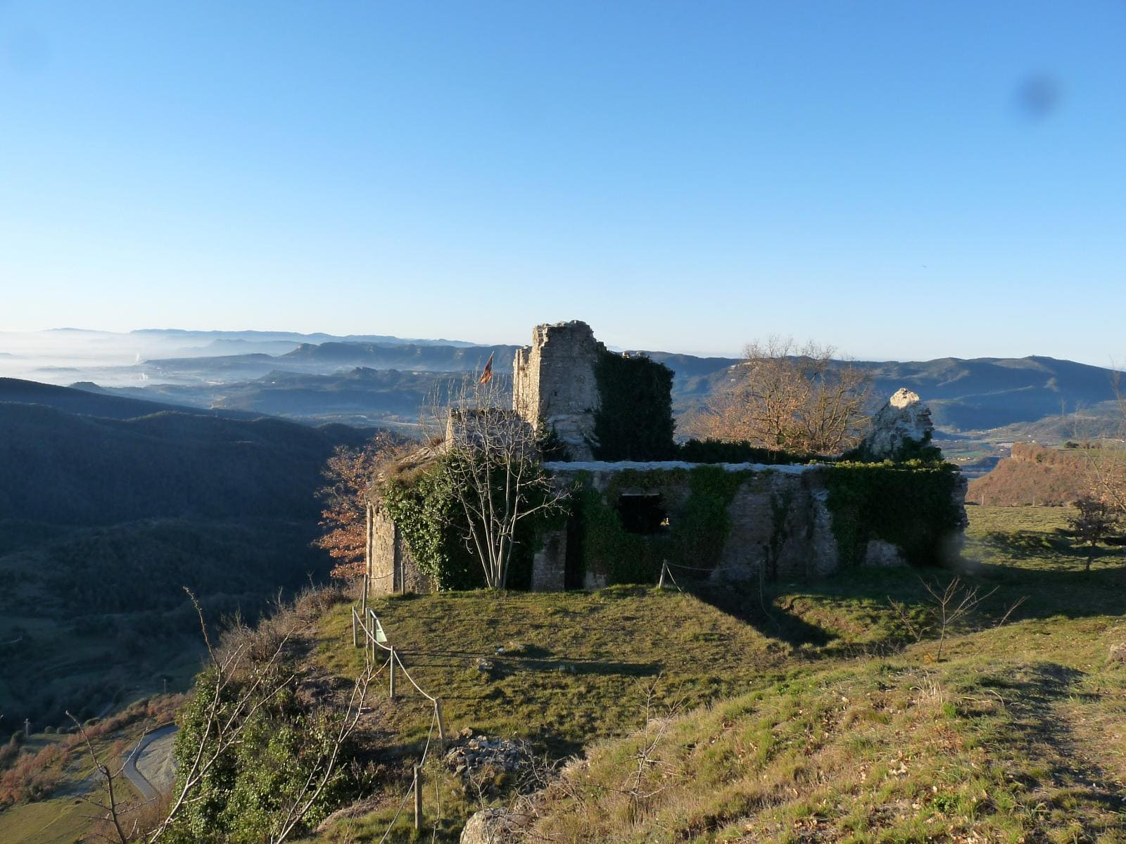 ruta castillo de besora