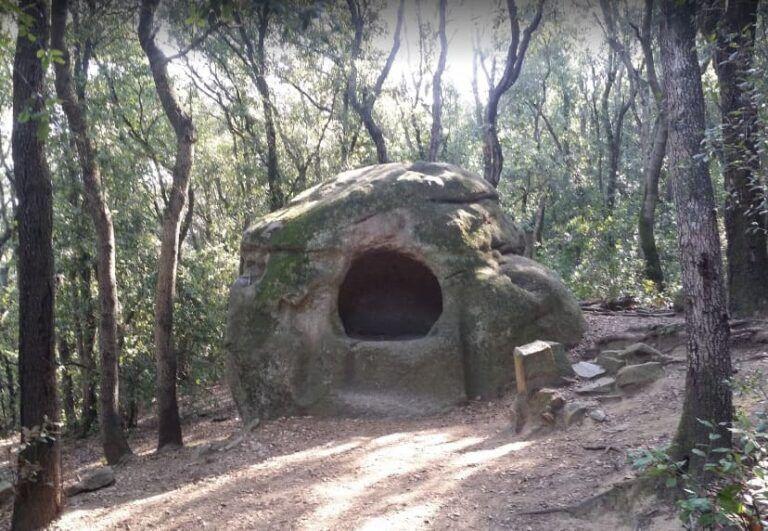 ruta la roca foradada vallromanes