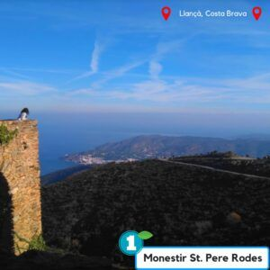 Ruta monestir sant pere de rodes