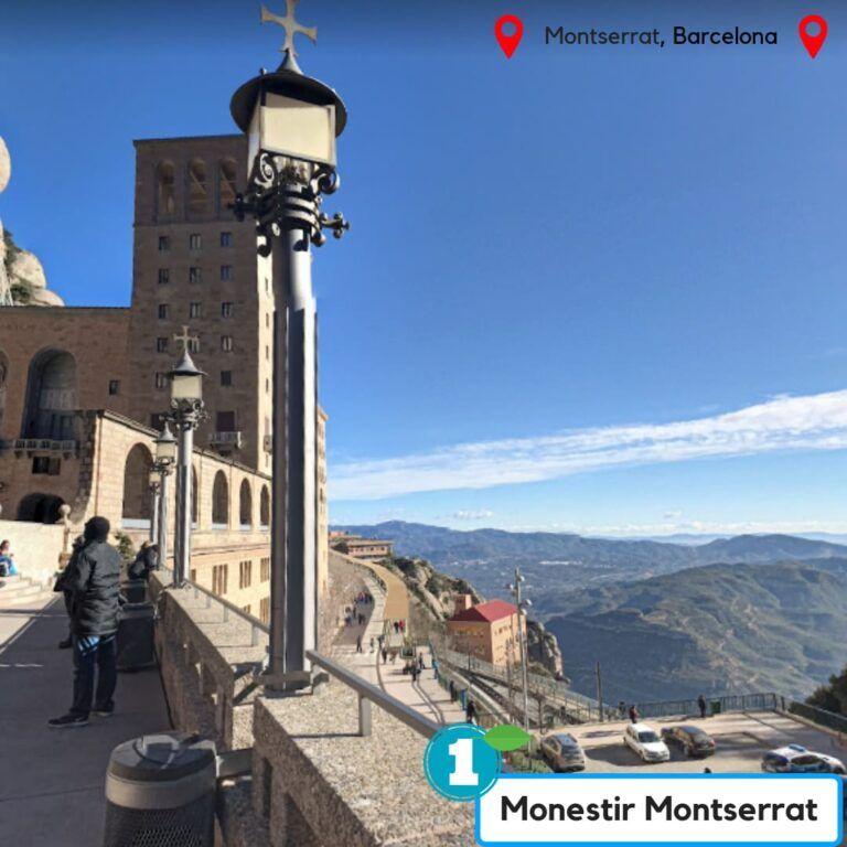 ruta monestir de montserrat