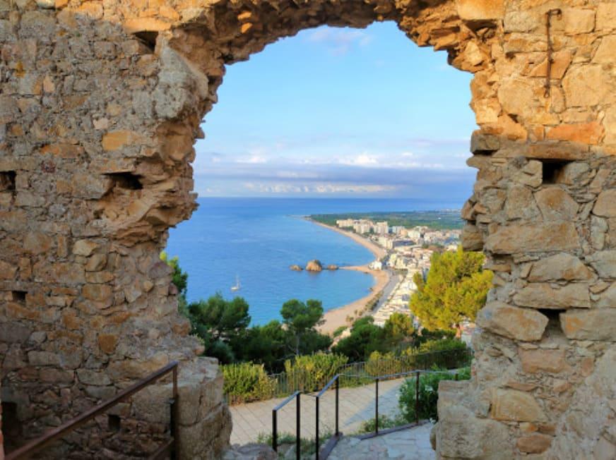 ruta castell de blanes Sant Joan