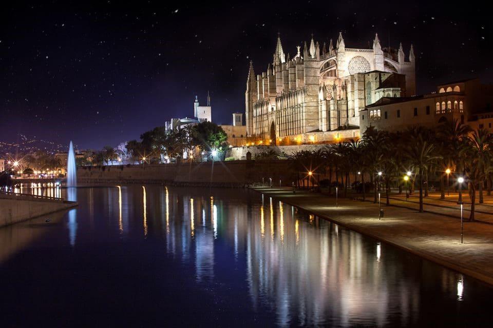 catedral de mallorca vista