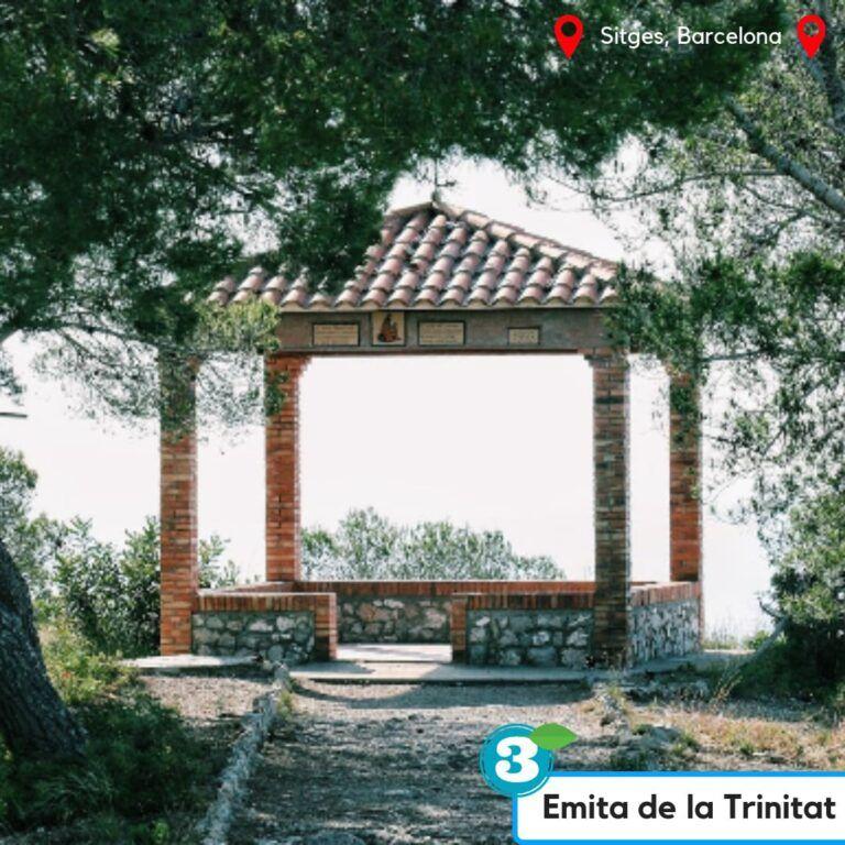 ruta ermita de la trinitat sitges