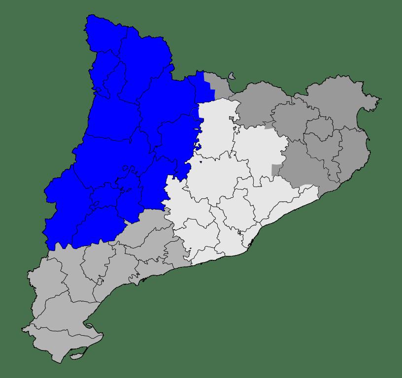rutas en lleida provincia