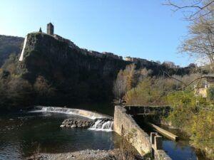 ruta pasarela de castellfollit de la roca