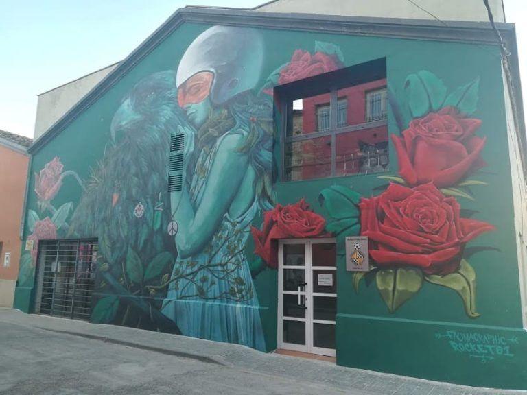 poble de penelles i graffities