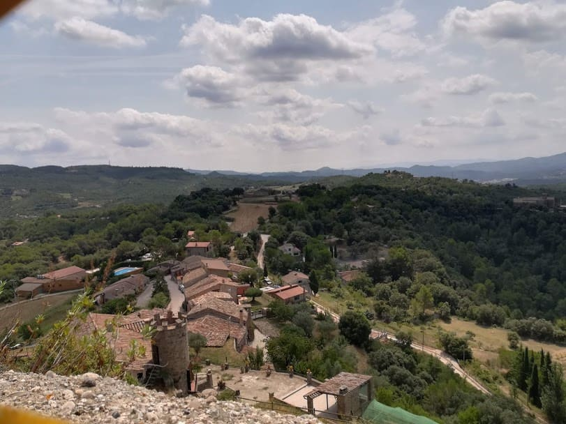 vista castillo de granera