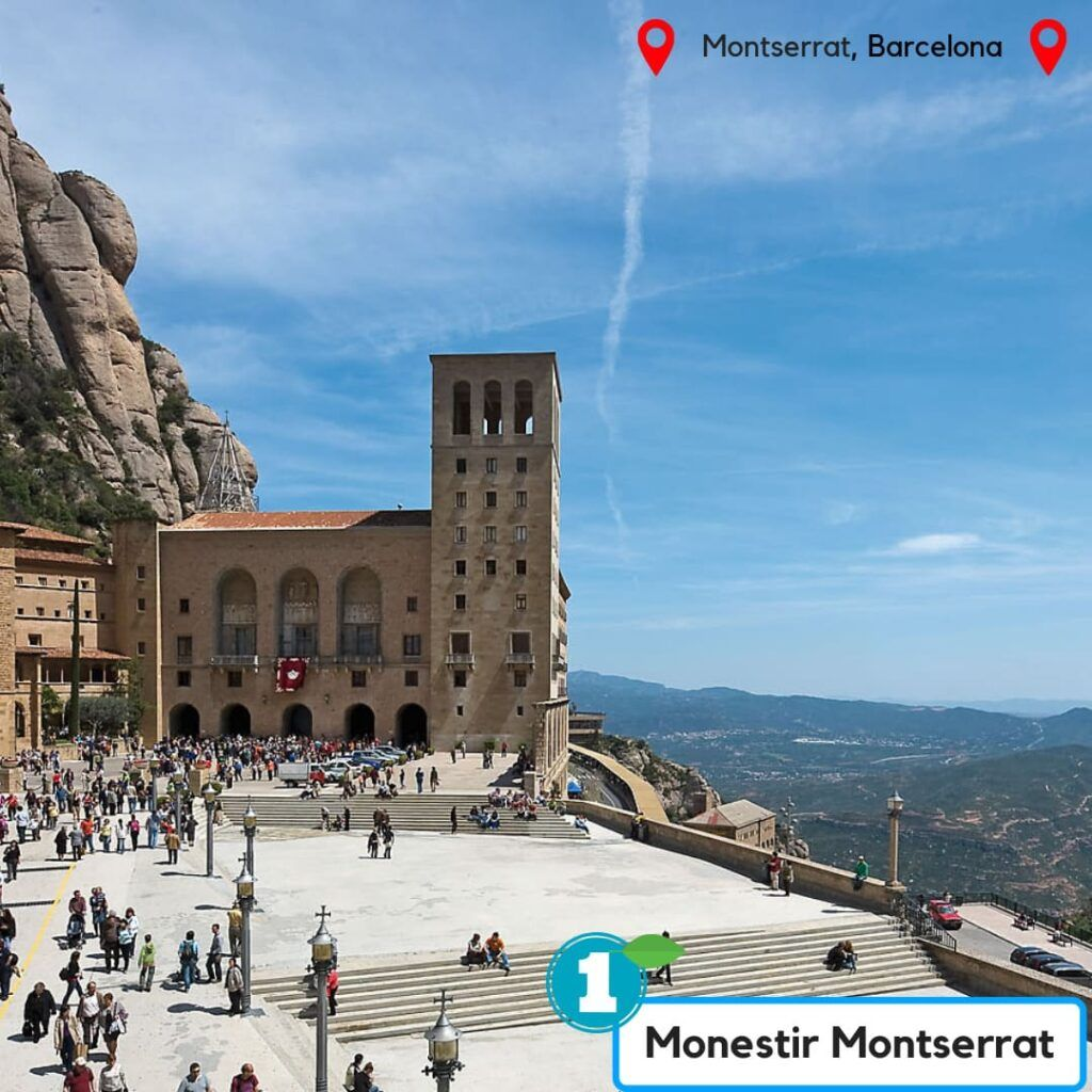 Massís de Montserrat Mosnestir de Montserrat