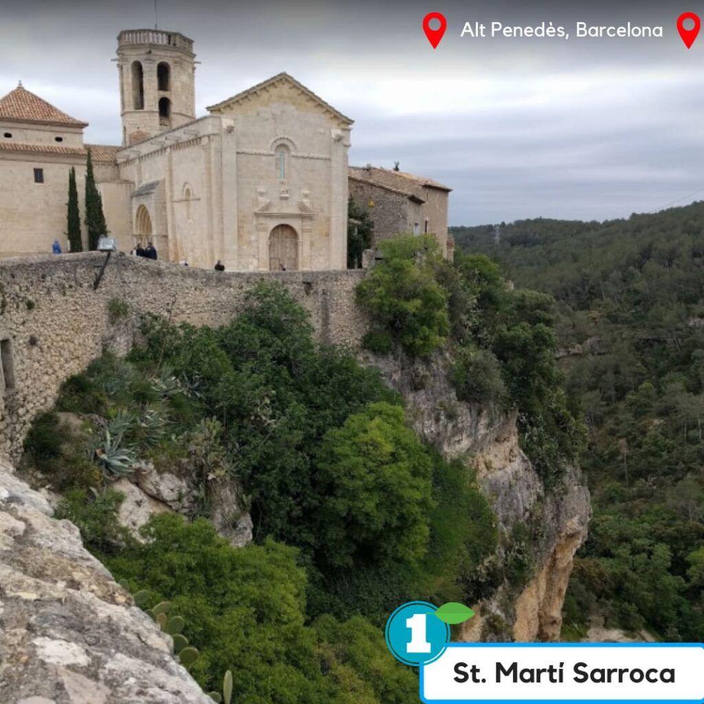 Castell de Sant Marti Sarroca