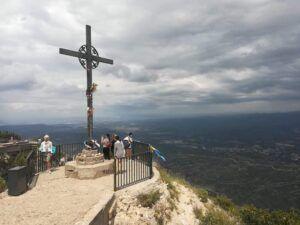 creu de sant miquel de montserrat
