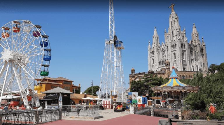 Parque atracciones el tibidabo de Barcelona
