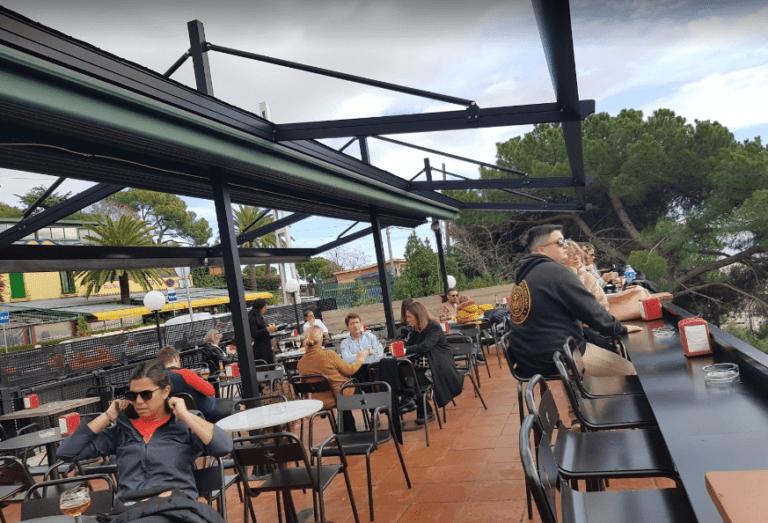 El balconet del Mirablau en Barcelona