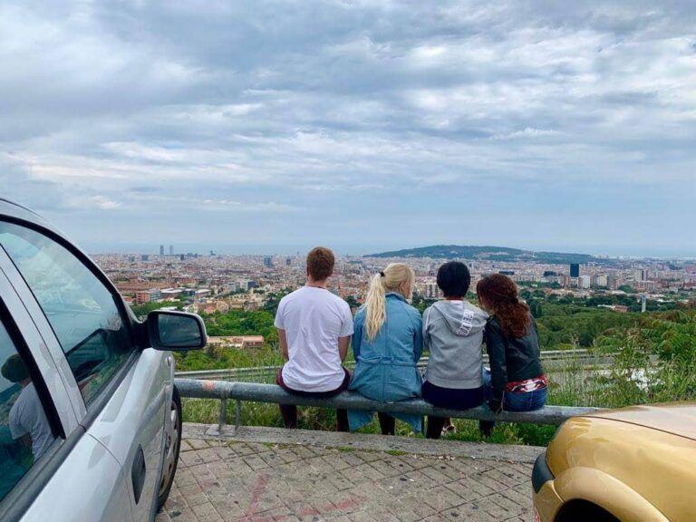 Panoramica desde el mirador de Sarrià