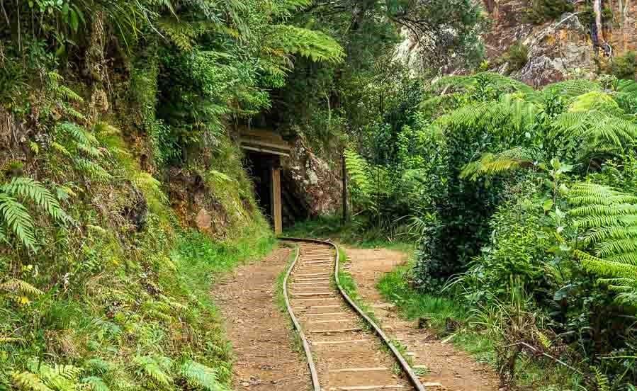 karangahake Gorge mine